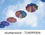 umbrella | Shutterstock . vector #714099304