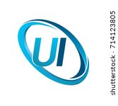 letter ui logotype design for...