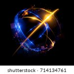 abstract background. elegant... | Shutterstock . vector #714134761