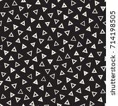 seamless primitive jumble... | Shutterstock .eps vector #714198505