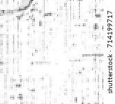 halftone black and white.... | Shutterstock . vector #714199717