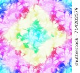 colorful light abstract tie dye ... | Shutterstock . vector #714202579