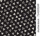seamless primitive jumble... | Shutterstock .eps vector #714205249