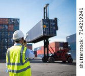 foreman control loading... | Shutterstock . vector #714219241