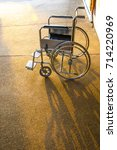 wheelchair  chairs are located... | Shutterstock . vector #714220969