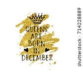 vector illustration  queens are ... | Shutterstock .eps vector #714228889