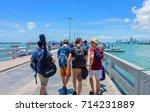 koh lan island  pattaya city ... | Shutterstock . vector #714231889