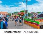 koh lan island  pattaya city ... | Shutterstock . vector #714231901