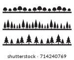 graphic tree  vector | Shutterstock .eps vector #714240769