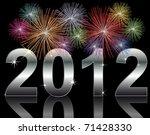 new year 2012 | Shutterstock . vector #71428330