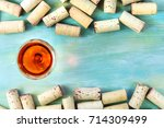 a photo of a vibrant glass of...   Shutterstock . vector #714309499