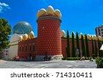 figueres  spain   july 23  2015....   Shutterstock . vector #714310411