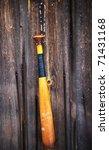 baseball bat | Shutterstock . vector #71431168
