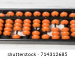 mental arithmetic blurred... | Shutterstock . vector #714312685