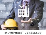 industrial4.0 cyber physical... | Shutterstock . vector #714316639