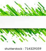 green abstract background on... | Shutterstock .eps vector #714329359
