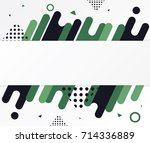 modern abstract shapes. design... | Shutterstock .eps vector #714336889