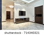 entrance hall  with a beautiful ...   Shutterstock . vector #714340321