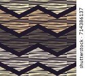 ethnic boho seamless pattern.... | Shutterstock .eps vector #714386137