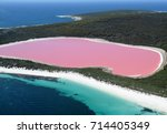 Lake hillier  western australia ...