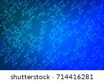 high tech background with dots | Shutterstock .eps vector #714416281