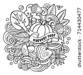 Cartoon Vector Doodles Autumn...