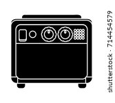 amplifier electric icon | Shutterstock .eps vector #714454579