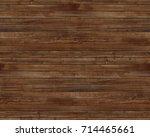 worn barn wood texture brown... | Shutterstock . vector #714465661
