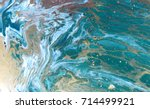 marbled abstract background.... | Shutterstock . vector #714499921