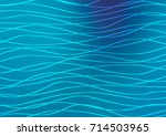 light blue vector indian curved ... | Shutterstock .eps vector #714503965