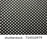 black nylon net texture with... | Shutterstock . vector #714510979