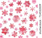 snow crystal texture background   Shutterstock .eps vector #714532039