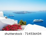 White Architecture On Santorini ...