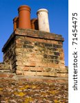 Chimneys On Typical English...