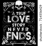 vintage slogan man t shirt... | Shutterstock .eps vector #714556429