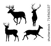 Shape Deer Black