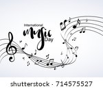 nice and beautiful abstract for ...   Shutterstock .eps vector #714575527