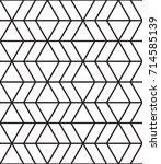 geometric seamless pattern | Shutterstock .eps vector #714585139