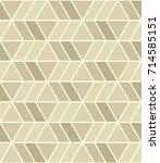 geometric seamless pattern | Shutterstock .eps vector #714585151