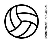 ball icon | Shutterstock .eps vector #714601021
