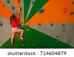 Sport Image Of Climbing Little...