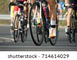 cycling competition cyclist...   Shutterstock . vector #714614029
