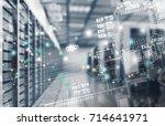 network concept. | Shutterstock . vector #714641971