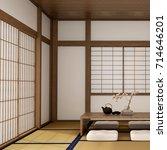 interior design living room... | Shutterstock . vector #714646201