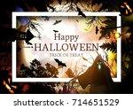 halloween. | Shutterstock .eps vector #714651529