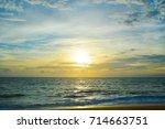chilaw beach sri lanka | Shutterstock . vector #714663751