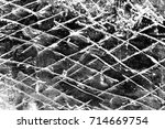 abstract background. monochrome ... | Shutterstock . vector #714669754
