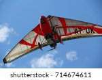 Ultralight Aircraft Red Wings...