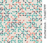 geometric pattern design  | Shutterstock .eps vector #714687499