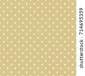 polka dots seamless pattern | Shutterstock .eps vector #714695359